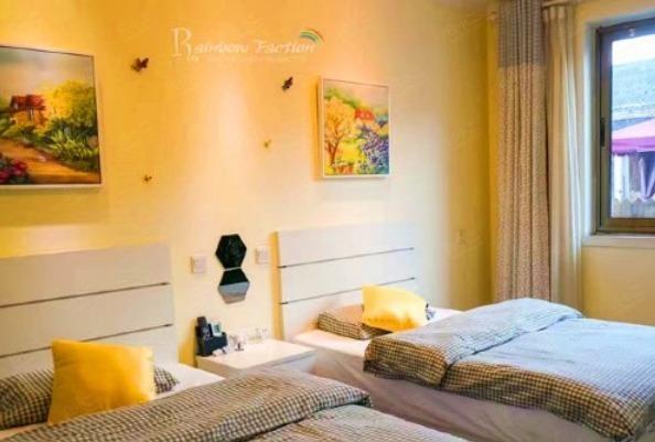 園景雙床房